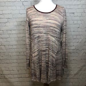 Maternity Shirt Jessica Simpson Long Sleeve Knit